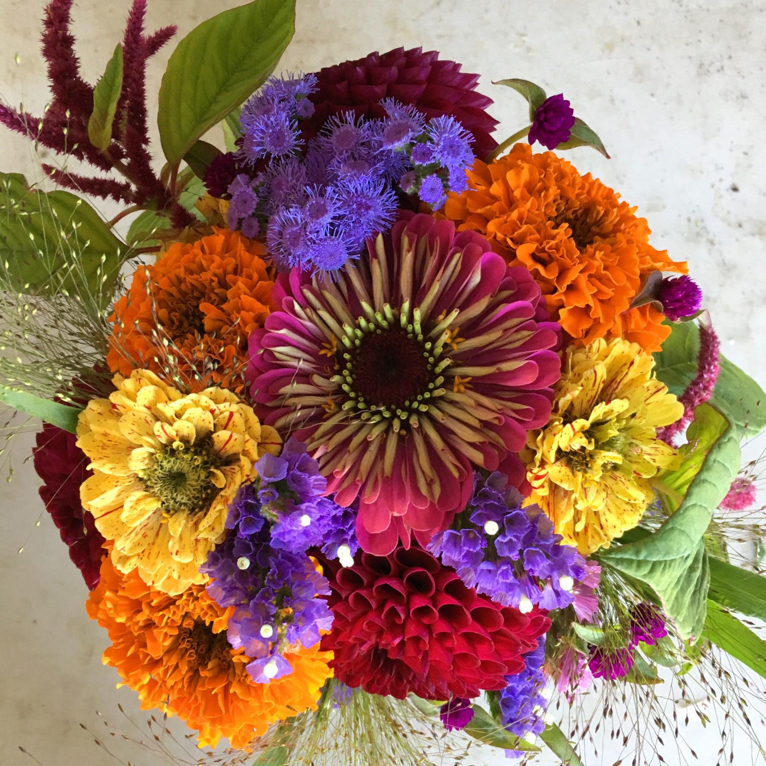 Wedding & Event Flowers - Deep Harvest Farm